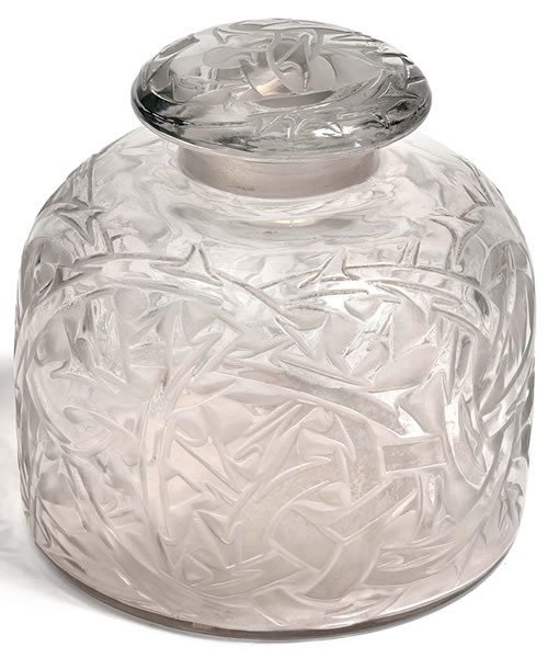 Rene Lalique Scent Bottle Epines