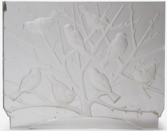 R. Lalique Fauvettes-3 Decoration 2 of 2