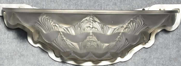 Rene Lalique Gaillon Wall Sconce