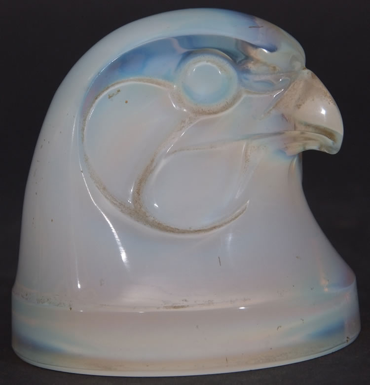 Rene Lalique Car Mascot Hawk Head
