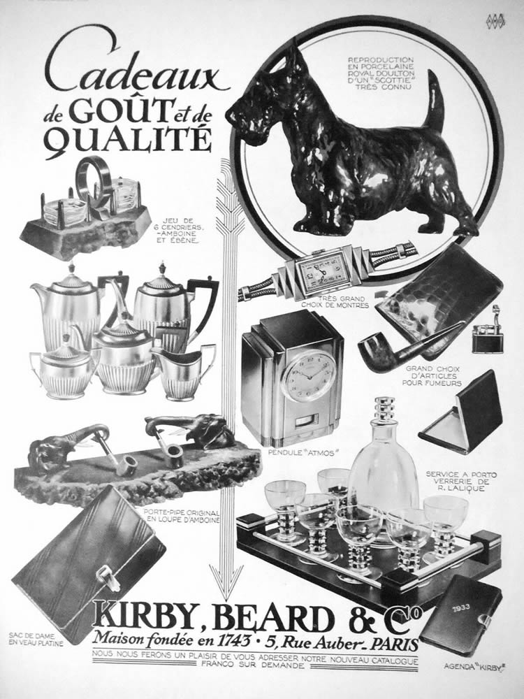Rene Lalique Kirby Beard And Co. 1932 Magazine Ad