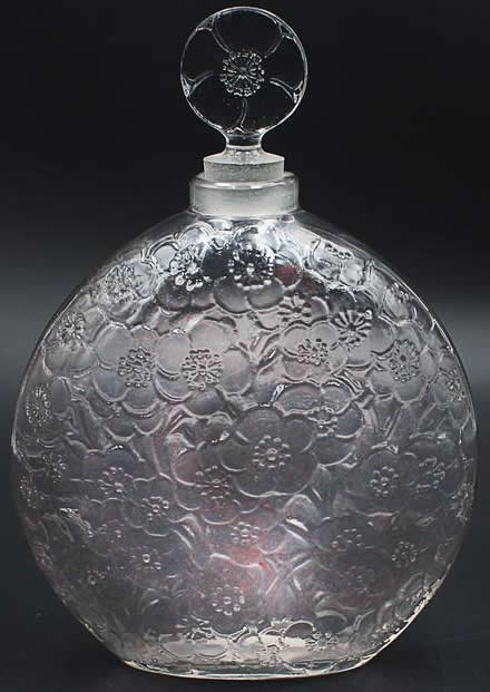 Rene Lalique Perfume Bottle Le Lys