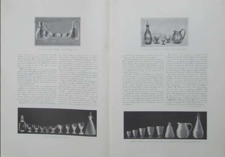 Rene Lalique Les Echos Des Industries D'Art No. 9 April 1926 Magazine