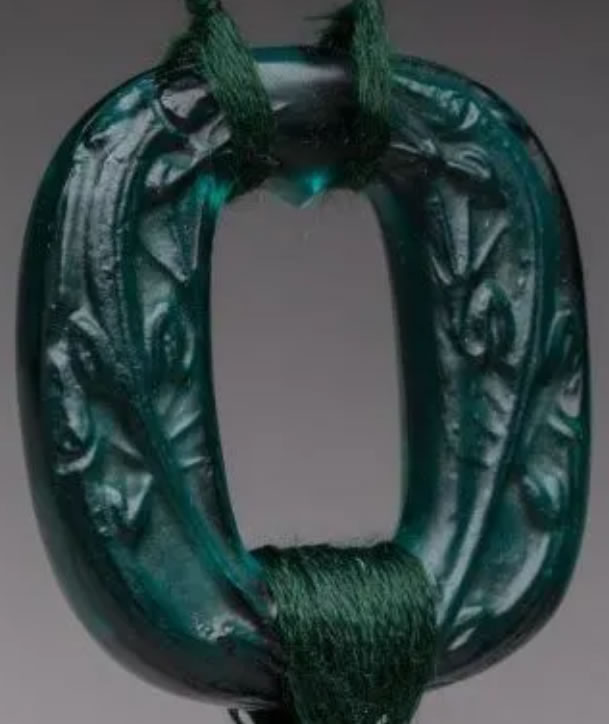 Rene Lalique Pendant Lezards-2
