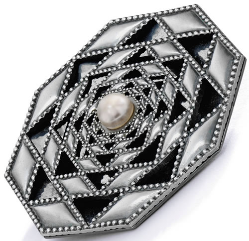 R. Lalique Machine Age Brooch 2 of 2