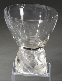 Rene Lalique Champagne Glass Marienthal