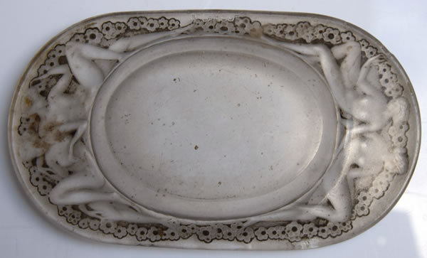 Rene Lalique Medicis Ashtray