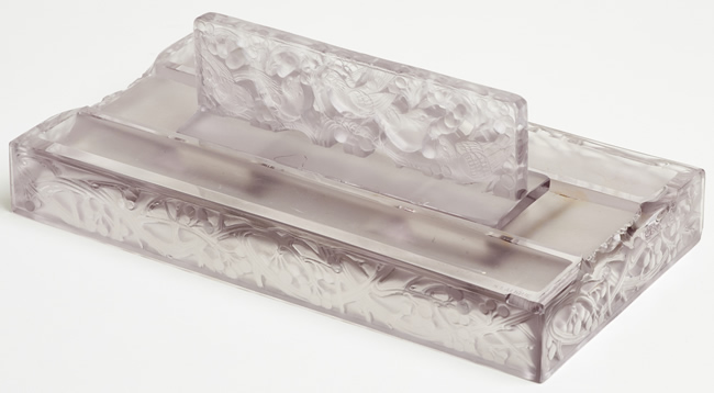 R. Lalique Mirabeau Inkwell 2 of 2