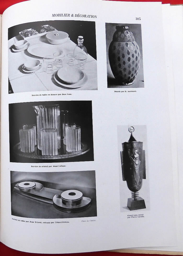 Rene Lalique Mobilier Et Decoration June 1931 Magazine