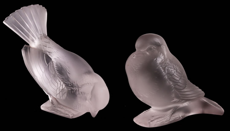 R. Lalique Moineau Hardi Paperweight 2 of 2