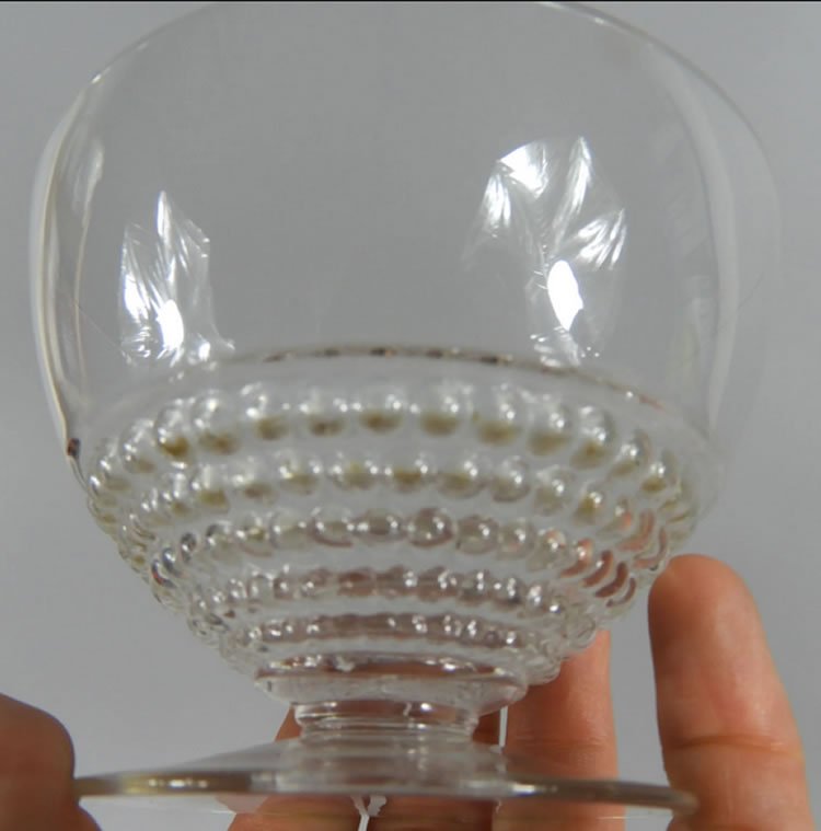 R. Lalique Nippon Champagne Glass 2 of 2