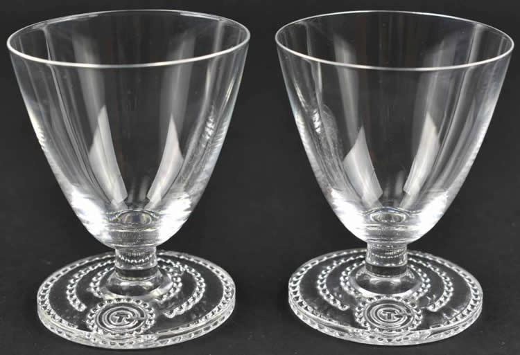 Rene Lalique Glass Normandie