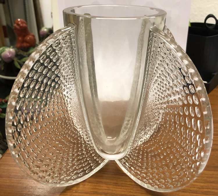 R. Lalique Orly Vase
