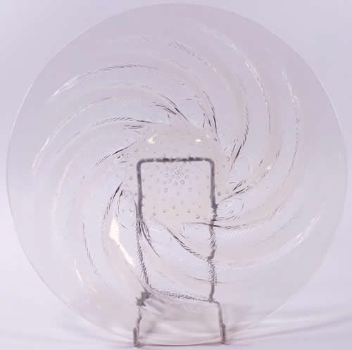 Rene Lalique Poissons Plate