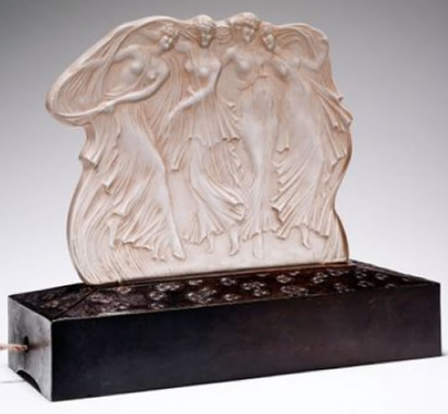 R. Lalique Quatre Danseuses Decoration 2 of 2