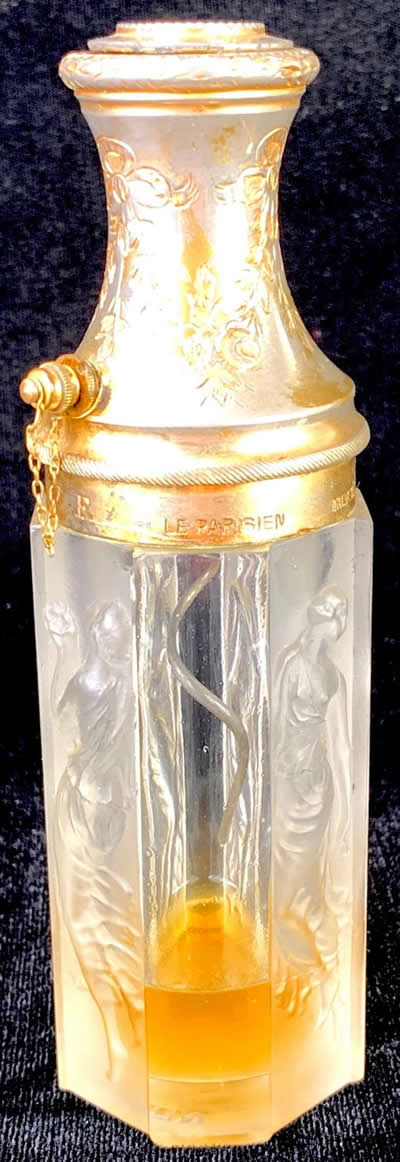 Rene Lalique Atomizer Quatre Figurines