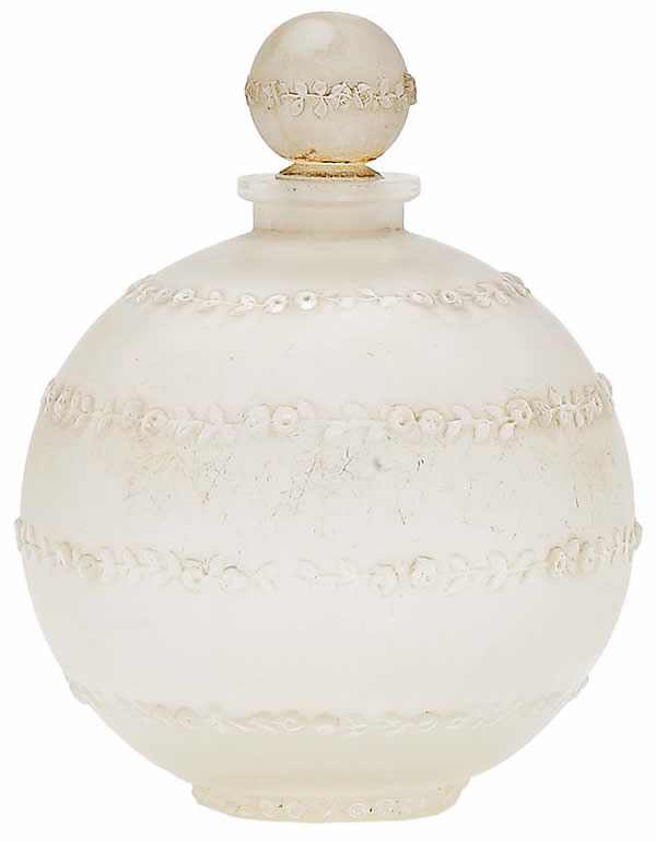 Rene Lalique Rose Sans Fin Scent Bottle
