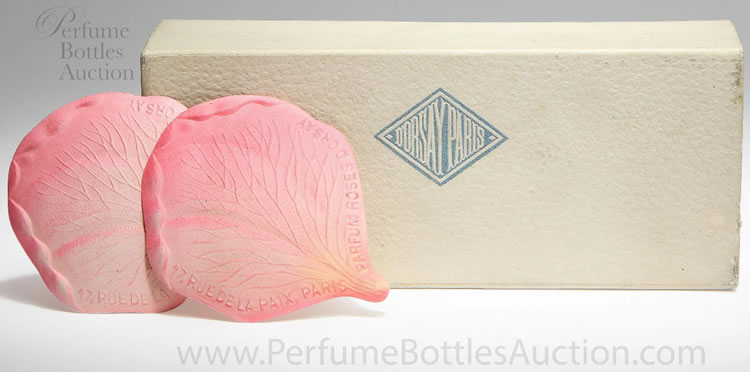 Rene Lalique Roses Perfume Card