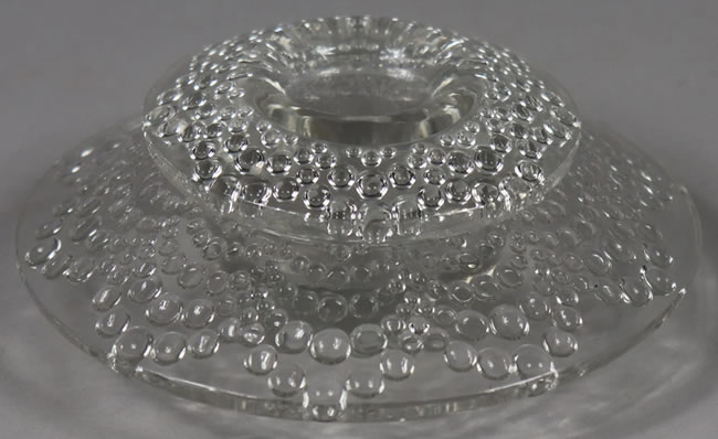 R. Lalique Saint-Gall Candleholder