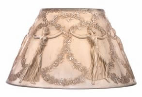 Rene Lalique Lamp Shade Six Danseuses