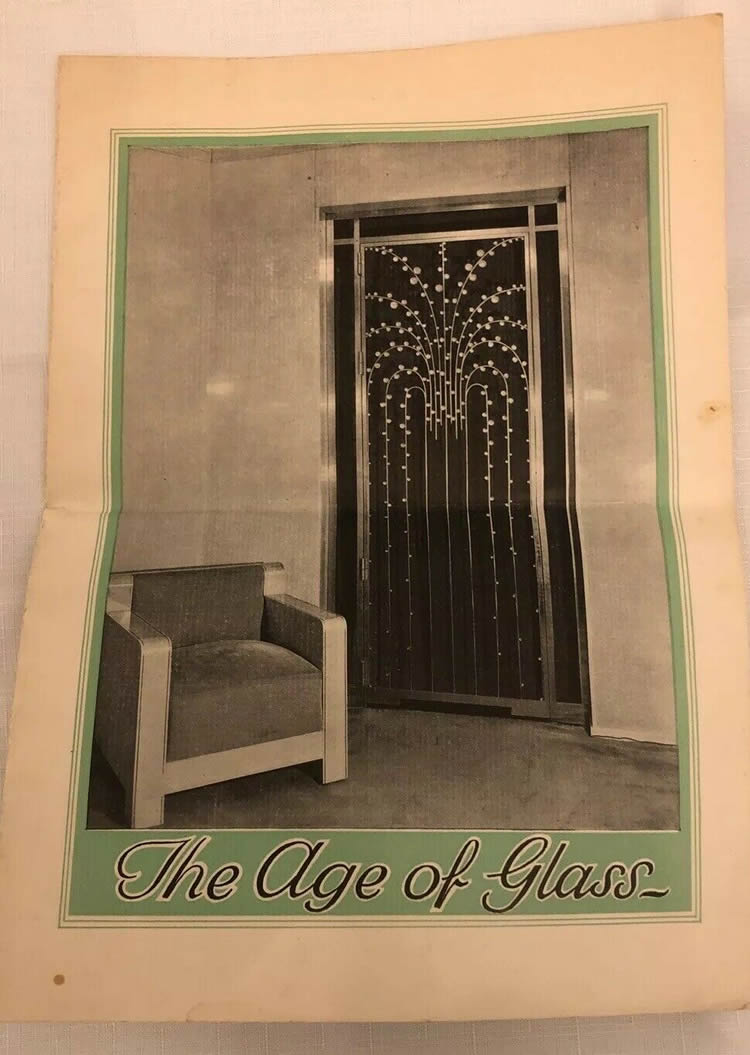 Rene Lalique The Age of Glass Brochure