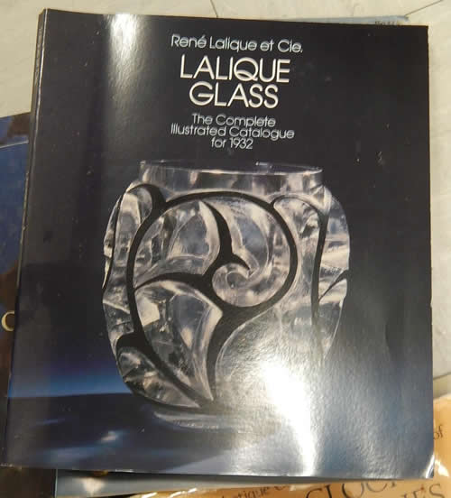 Rene Lalique The Complete Illustrated Catalgue for 1932 Reprint Catalogue