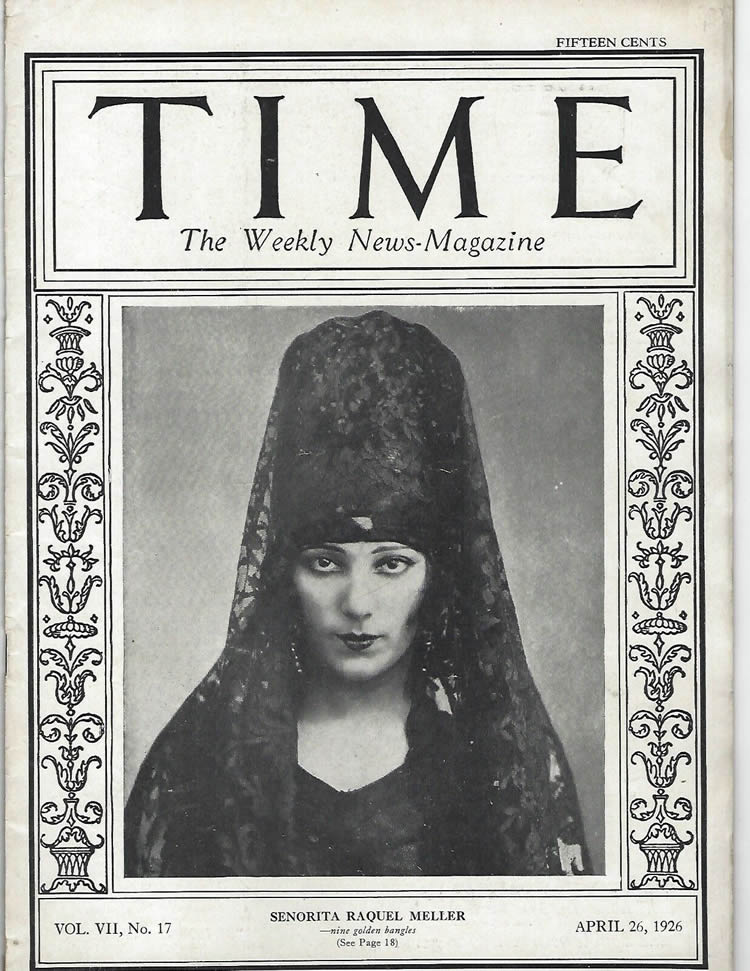 Rene Lalique Time April 26 1926 Magazine
