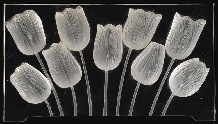 R. Lalique Tulipes-2 Decoration