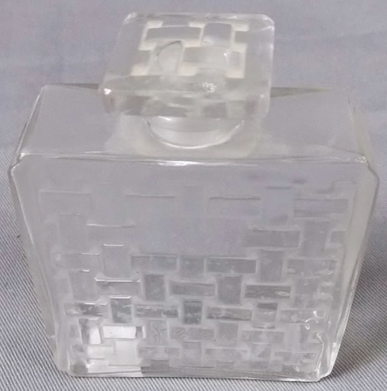 R. Lalique Violette Perfume Bottle