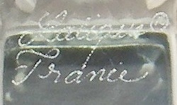 Lalique France Modern Signature With Registered Trademark Symbol Example No. 10