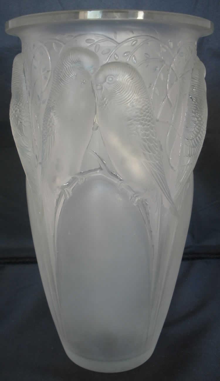 Rene Lalique Vase Ceylan