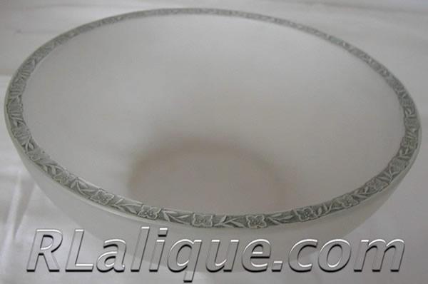 Rene Lalique Sponge Bowl Fleurettes