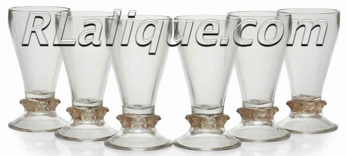 Rene Lalique Glass Quatre Grenouilles
