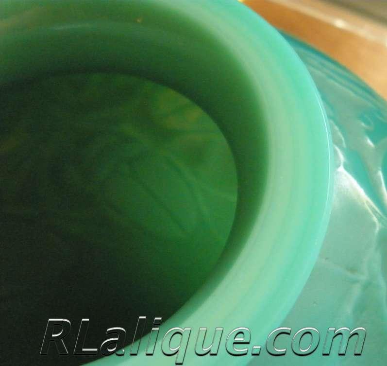 Rene Lalique Vase Gros Scarabees