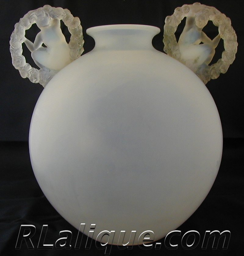 Rene Lalique Vase Ronsard