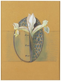 Rene Lalique Orchid Buckle Drawing