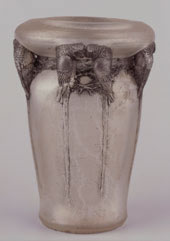 Rene Lalique Cire Perdue Vase from the Gulbenkien Museum in Portugal