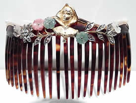 Rene Lalique Fake Jewelry Hair Comb