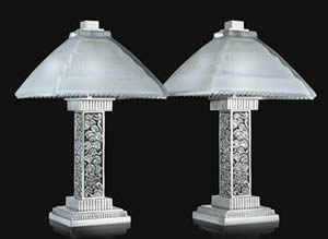 Rene Lalique Lamps Grand Depot