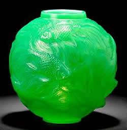 Rene Lalique Vase Formose