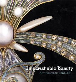 Imperishable Beauty Art Nouveau and Rene Lalique Jewelry Exhibition Book Cover