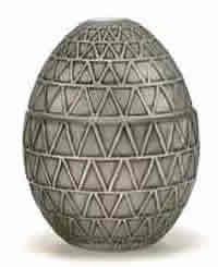 Rene Lalique Perfume Bottle Egg for Worth
