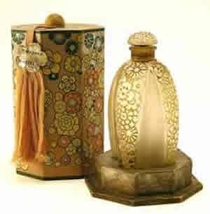 Rene Lalique Perfume Bottle Toutes Les Fleurs for Gabilla in Original Box