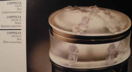 Lalique Crystal Coppelia Box
