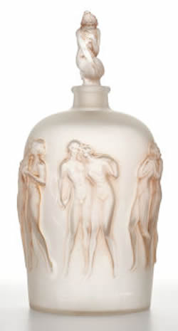 Rene Lalique Douze Figurines Vase At Heritage December 4th in New York