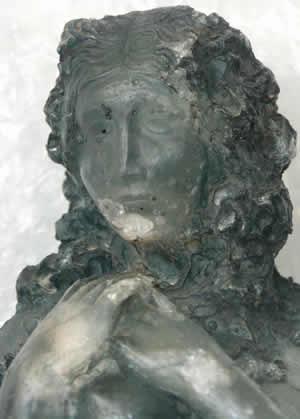 Rene Lalique Cire Perdue Statue