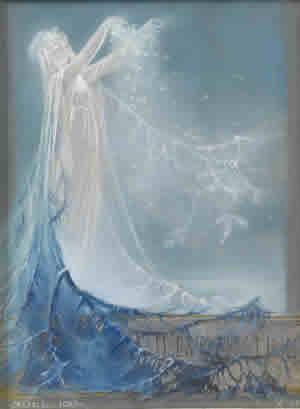 Rene Lalique Painting Noel