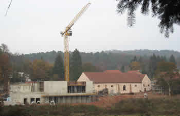 Lalique Museum Building Site With Crane