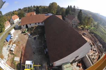 Lalique Museum Building Site From Above
