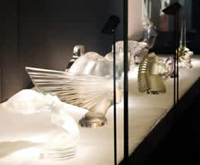 Lalique Museum Car Mascot Display